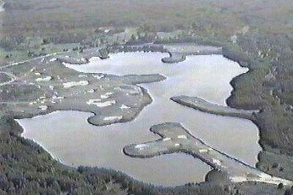 Озеро карачай на карте