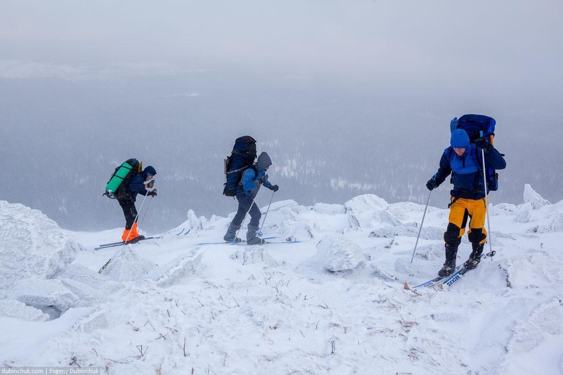 На лыжах по камням. Поход по Уралу
