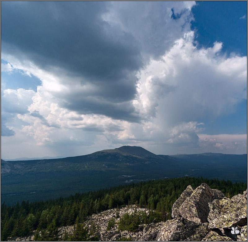 Иремель. Вид с горы Абараш-Баш