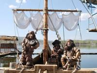 Аквапарк «Сонькина лагуна». Пиратский плот.