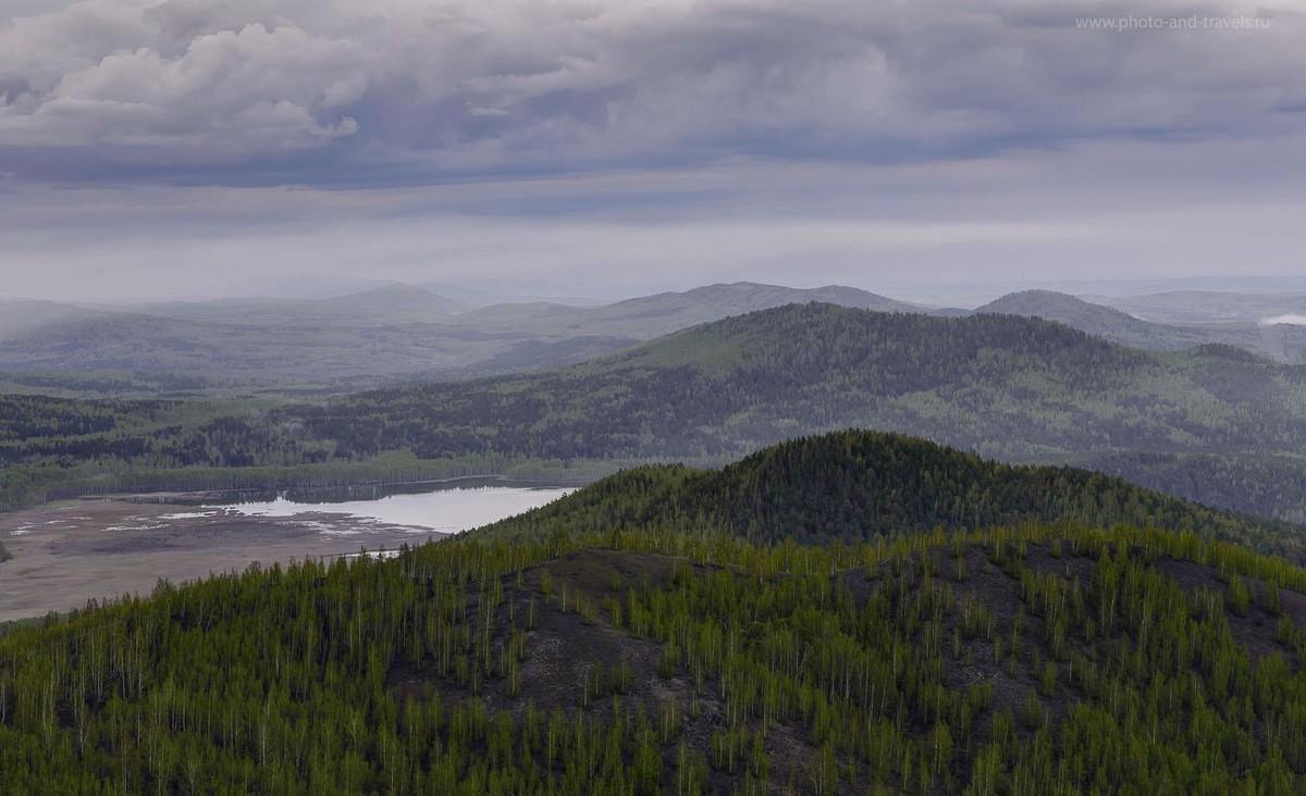 27. Вид на горы Собачьи горы (HDR из трех снимков)
