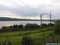 Железная дорого около озера Ильмень. Автор: Костенко О.