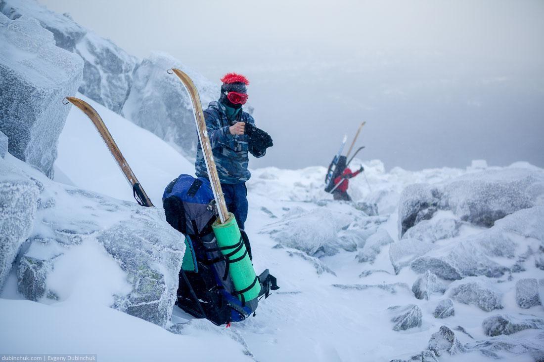 Мороз на Южном Урале