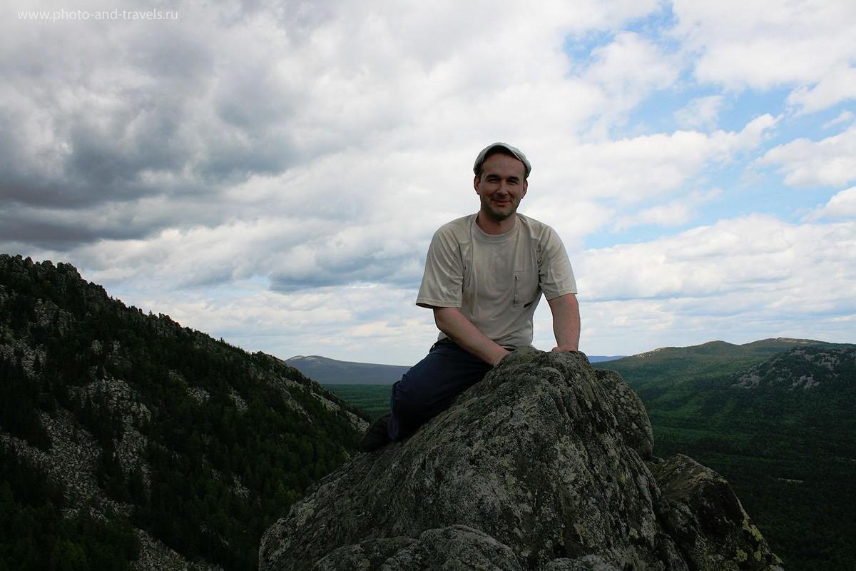 """7. На одном из """"перьев"""" горы Двуглавая Сопка. Парк Таганай в Челябинской области"""