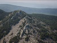 Вершина Двуглавой Сопки(Бараньи лбы)
