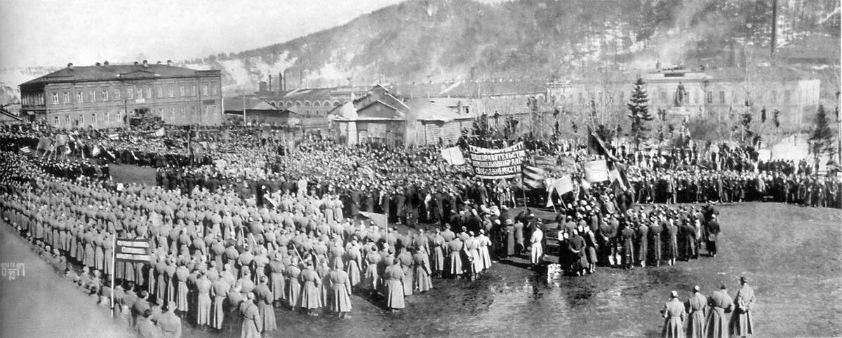 1917 г. Март