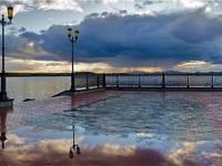 Набережная в Озерске Автор: Анна Мочалова