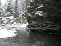 Ларкино ущелье зимой. Автор: Ludosik.