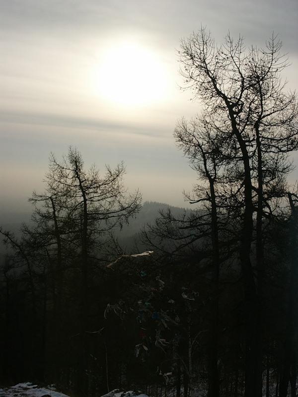 Кыштым, декабрь 2005, часть 3 - гора Сугомак и Сугомакская ...
