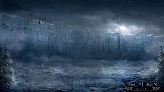 Игра престолов ледяная стена