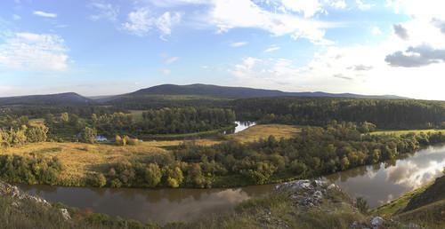 Ай, гора Маринкина и гора Горновая