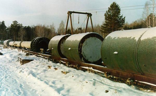 газодинамическая установка для проведения ударных испытаний ядерных зарядов