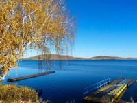 Озеро Банное. Осень. Автор: Минигюль Мусина.