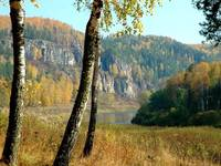 Река Ай. Осень.