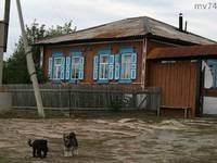 Дом, в котором родился Петр Иванович Сумин. Село Верхняя Санарка. Автор: Марина Волкова.