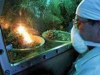 ПО «Маяк». Химико-металлургическое производство. Пережигание урановой стружки.