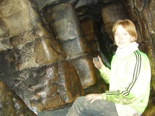 В Игнатьевской пещере