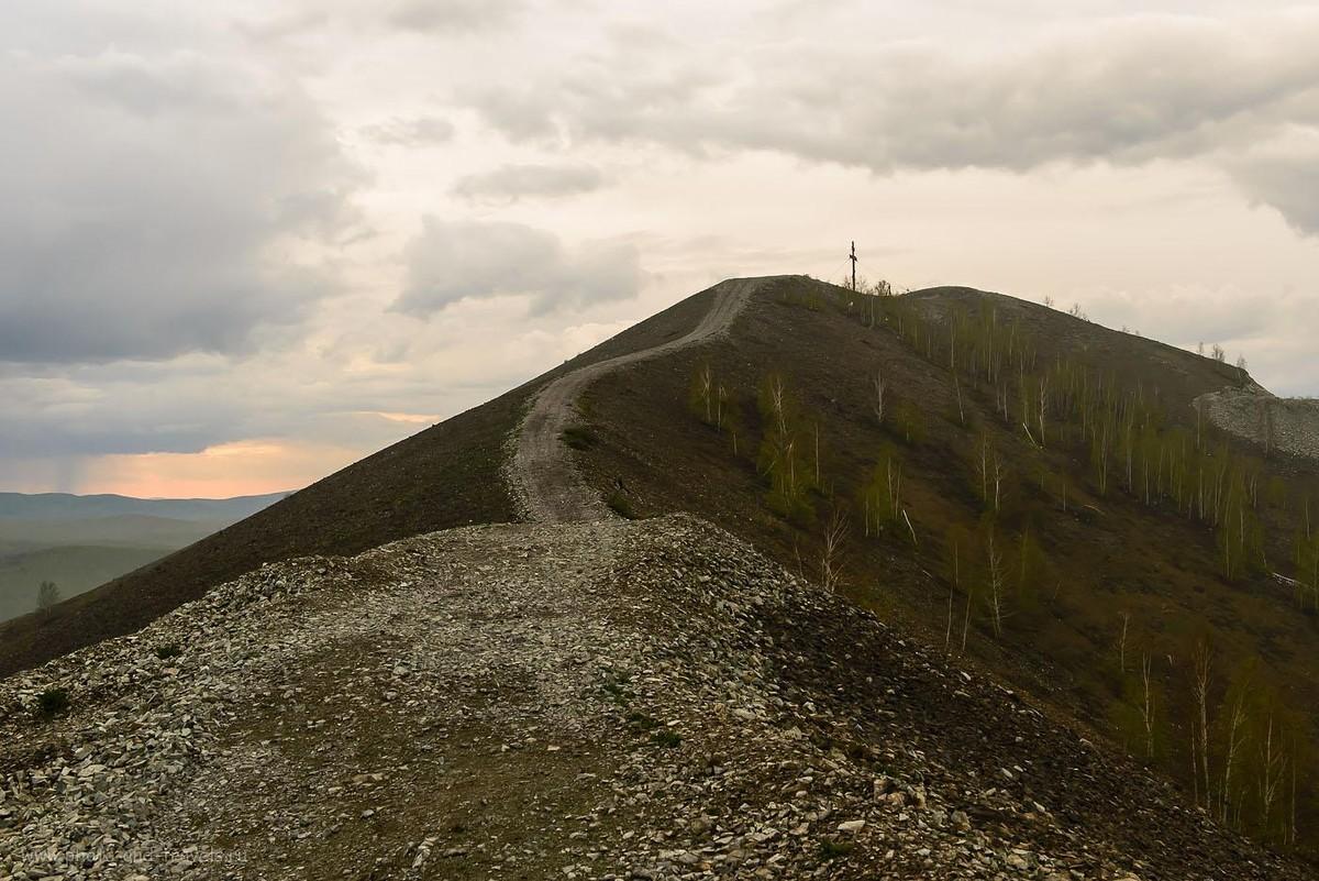 23. Поклонный крест на горе Золотая в городе Карабаш Челябинской области (1600, 40, 9.0, 1/200)