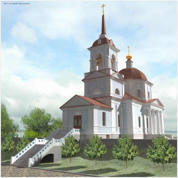 проект реставрации храма