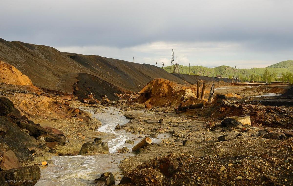 9. Мёртвая вода в реке Сак-Элга (400, 45, 10.0, 1/250)