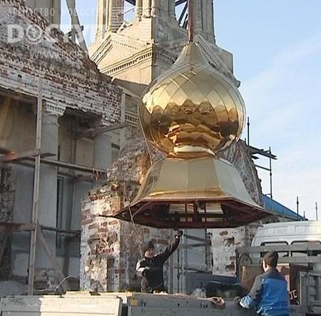 установка куполов