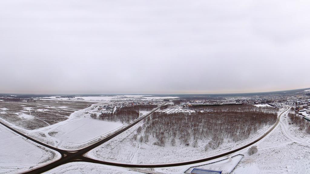 Панорама села Миасское