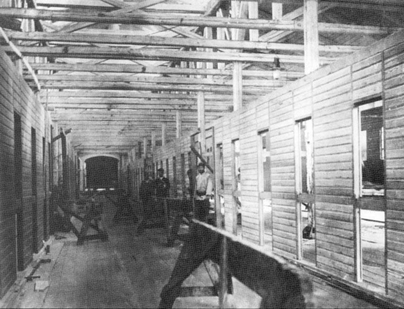 Малярный цех Усть-Катавского завода