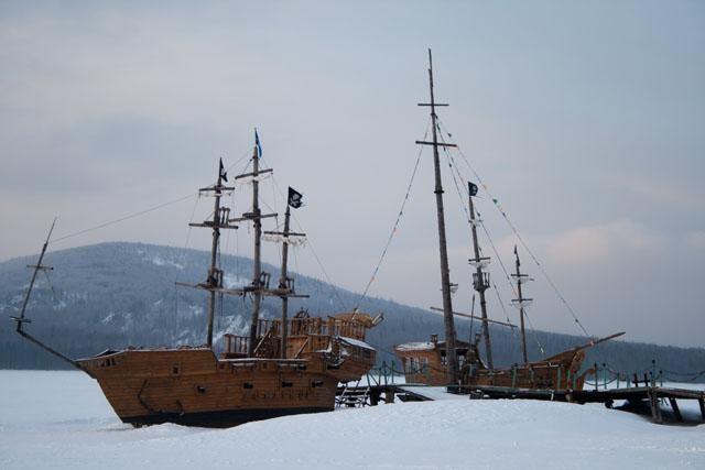 Озеро Зюраткуль и Китова пристань