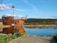 Корабль-кафе «Юнона» Автор: Владимир Тимкин (http://timon-ja.livejournal.com/)