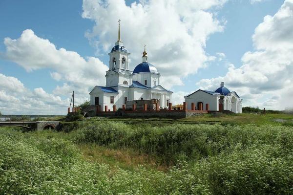 Храм в Кяше сегодня