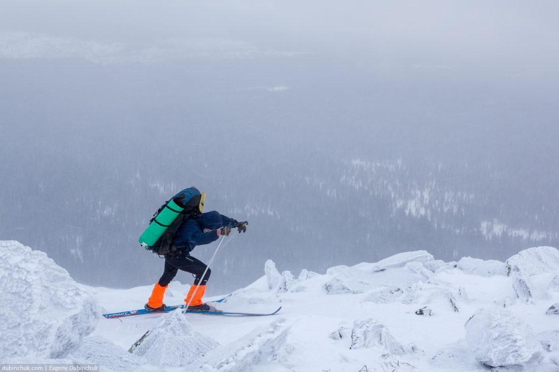 Борьба со стихией. Лыжный поход по Уралу
