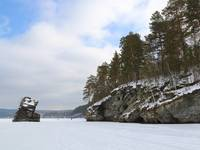 Шайтан камень. Озеро Иткуль. Автор: Max Shveikin