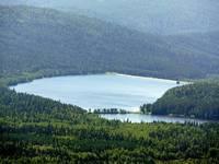 Большое Тесьминское водохранилище  в Златоусте  Автор: Александр Козлов