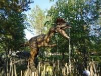 Динопарк «Динозаврик». Экспозиция 2012-2013 гг. Динозавр 2.