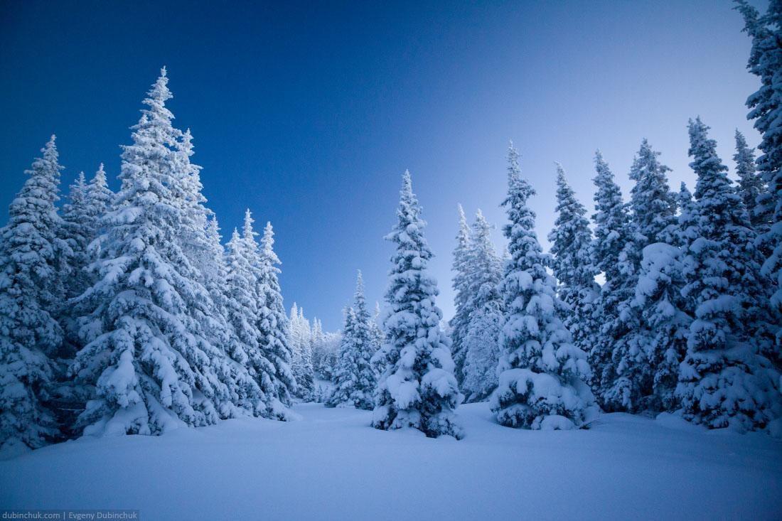 Зима на Южном Урале