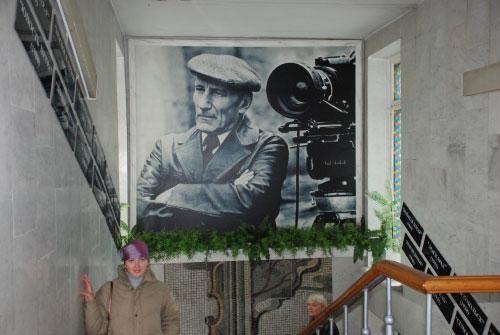 В музее С.А. Герасимова в селе Кундрава