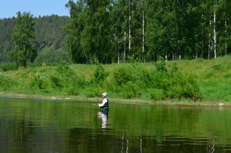 Рыболов Река Ай