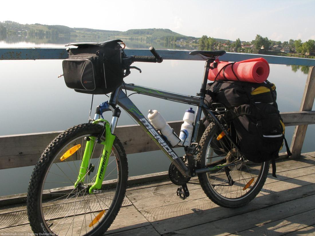 Велосипед туриста. Одиночный велопоход по Среднему и Южному Уралу