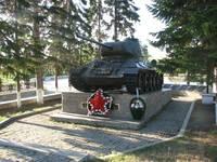 Памятник «Танк Т-34» на Нижнем Кыштыме.