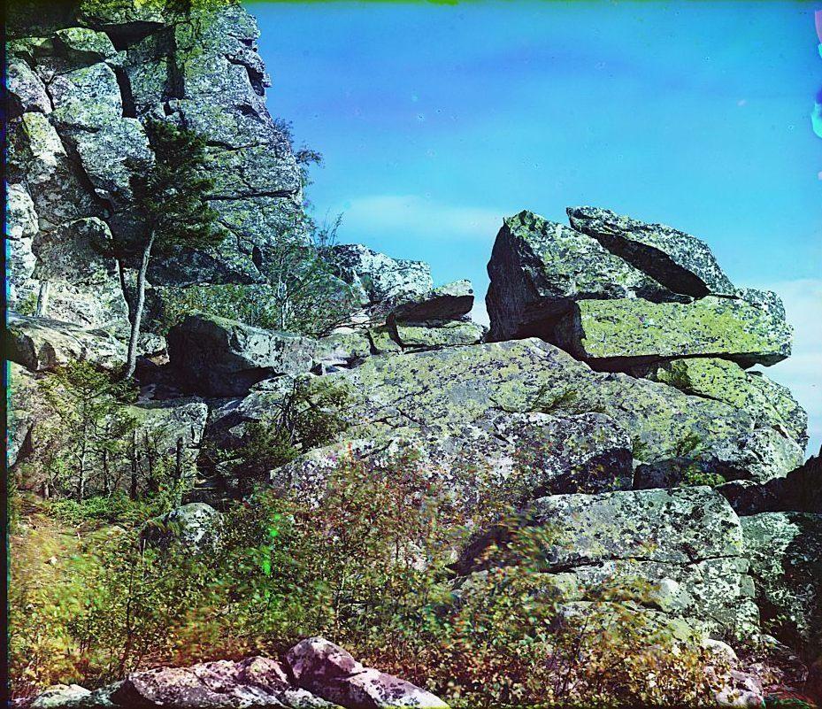 Гора Таганай с Александровской сопки