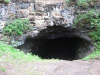 Вход в пещеру Кургазак