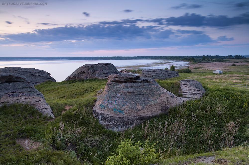 Каменные палатки на озере Большие Аллаки | Путеводитель по ...