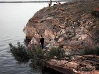 Рыбалка на Синаре. Автор: Людмила Курлова.