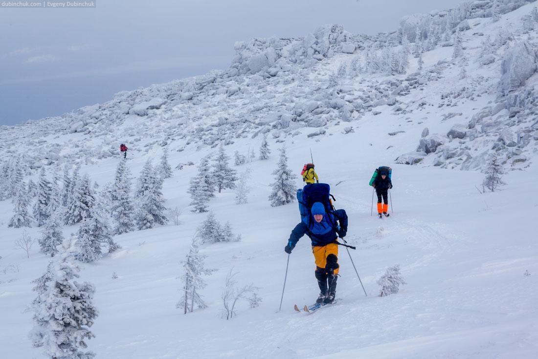 Лыжный поход. Национальный парк Зюраткуль, Южный Урал