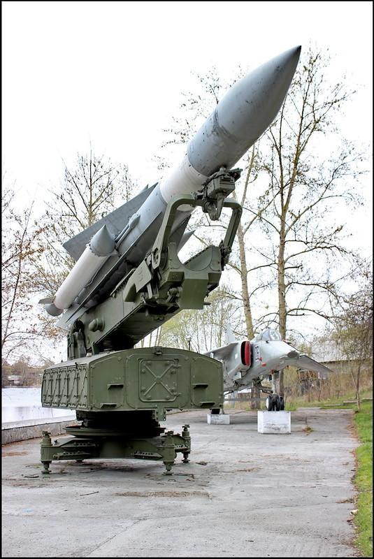 Кыштым 1429 Музей ПВО - С-200