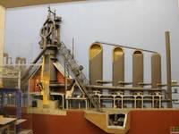 Макет в музее ММК. Автор:  Байдерины.
