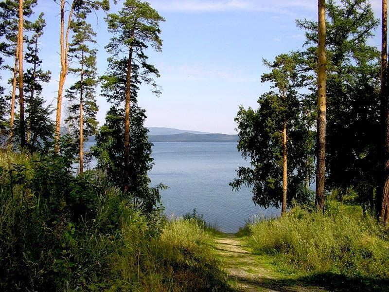 Озеро Тургояк. Южный Урал.