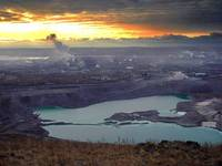 Магнитогорск, вид с горы Магнитной, ММК.
