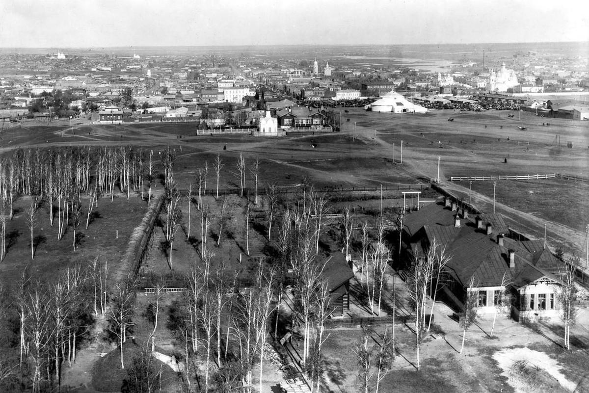 Общий вид города. 1916