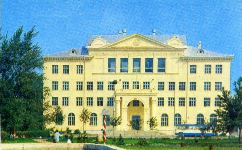 Челябинск. Дворец пионеров и школьников. Фото Б. Погорелого, 1974 г.